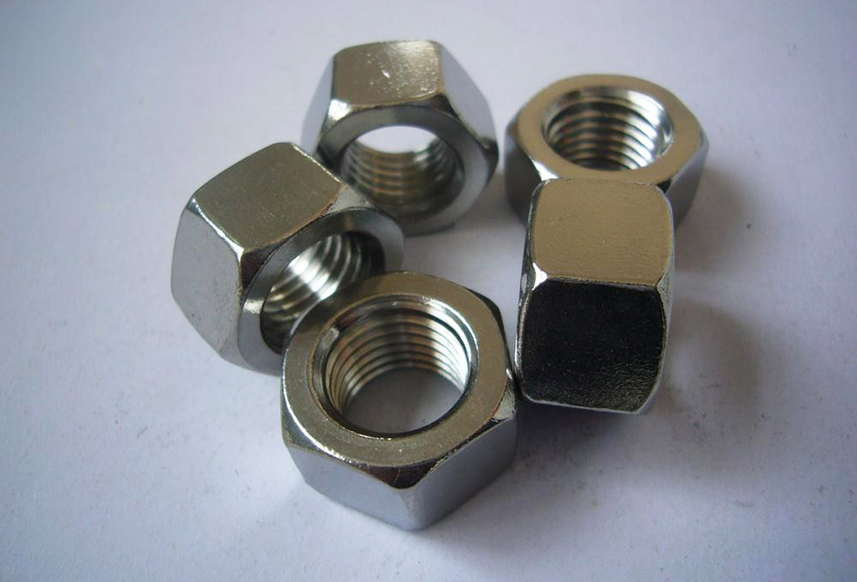 Stainless steel hex nuts m