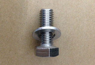 Stainless Steel Hex Bolts with Flat Washers M8X25