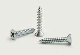 Stainless Steel 304 Self Tapping Screw D3.5*d2.5*h7.0L25