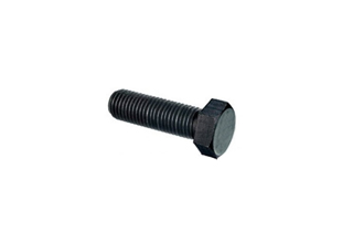Bolts Mild Steel Black Hex Head With Hex Nuts, 16mmX62mm