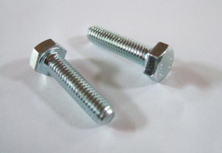 China Zinc Plated Galvanized Bolts DIN 933, M16x60