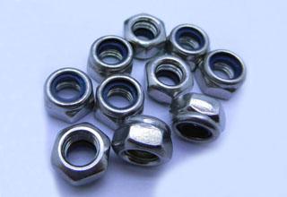 1/4-20 NC-2B 18-8 Stainless Steel Locknut Nylon Insert