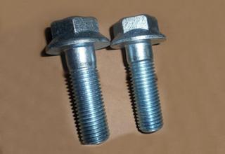 Flange Bolts, Zinc Plated Galvanized DIN6921 M12X55X1.25