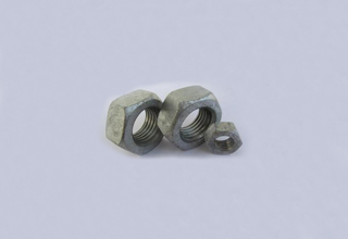 DIN934, Hot Dip Galvanized Nuts M36
