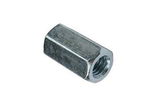 Hex Long Nuts, Zinc Plated Carbon Steel Hex Long Nuts DIN6334, M6X12mm