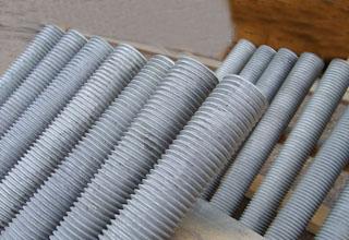 Threaded Rods, Hot Dip Galvanized Threaded Rods Grade 4.6, M10X3000mm