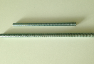 Threaded Rods, Zinc Plated Galvanized Threaded Rods Din976, M10X2000mm