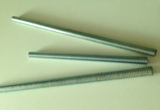 Threaded Rods, Zinc Plated Galvanized Threaded Rods Din976, M16X2000mm