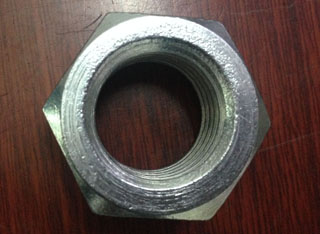 Zinc Plated Galvanized Carbon Steel Hex Nuts M24