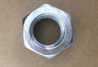 Zinc Plated Galvanized Carbon Steel Hex Nuts M14