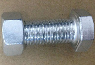 Zinc Plated Galvanized Carbon Steel Hex Bolts with Nuts M16X44