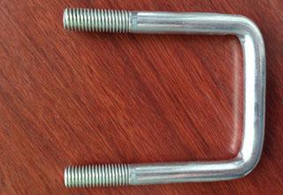 Zinc Plated Galvanized Carbon Steel U Bolts M12X72X107