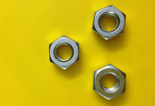 Zinc Plated Galvanized Carbon Steel Hex Nuts M8