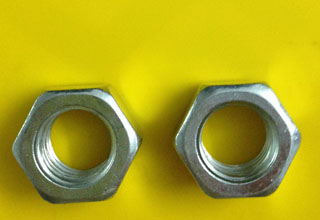 Zinc Plated Galvanized Carbon Steel Hex Nuts M18