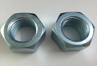 Zinc Plated Galvanized Carbon Steel Hex Nuts M20