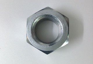 Zinc Plated Galvanized Carbon Steel Hex Nuts M22