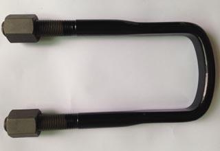 Carbon Steel U Bolts with Nuts M20X93X250