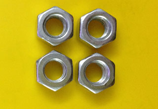 Zinc Plated Galvanized Carbon Steel Hex Nuts M5