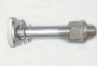Zinc Plated Galvanized Carbon Steel T Bolts Assembly M20X143