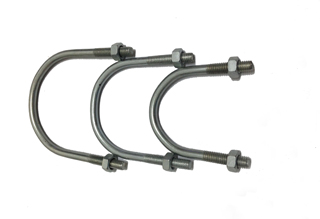Carbon Steel U Bolts with Nuts M6X42X60