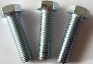 Zinc Plated Galvanized Carbon Steel Hex Bolts M10X77