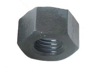 Black Oxide Carbon Steel Hex Nuts M10