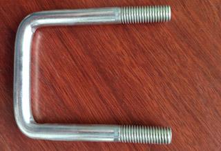 Zinc Plated Galvanized Carbon Steel U Bolts M14X72X107