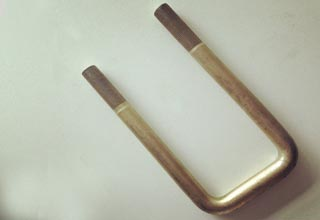 Zinc Plated Galvanized Carbon Steel U Bolts M22X90X230