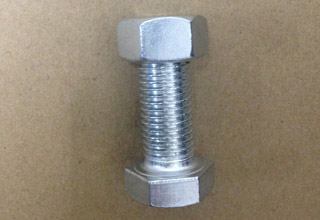 Zinc Plated Galvanized Carbon Steel Hex Bolts with Nuts M18X44