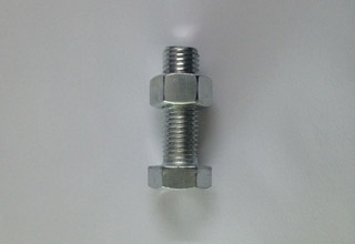 Zinc Plated Galvanized Carbon Steel Hex Bolts with Nuts M18X60