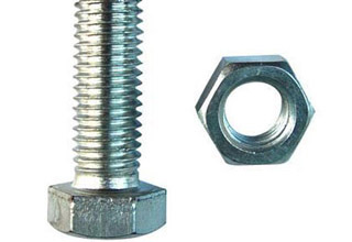 Zinc Plated Galvanized Carbon Steel Hex Bolts with Nuts M18X85