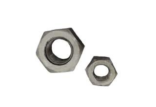 Plain 1035 Hex Nuts M24