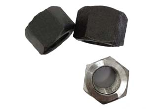 Plain 1035 Hex Nuts M27