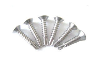 Cross Recessed Countersunk Head Drilling Screws With Tapping Screw Thread Din 7504O-H, 3.5 x 19