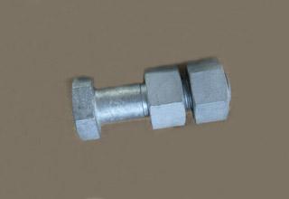 China Stud Bolt C/W 2PC A194 2H Heavy Hex Nut,5/8x 80