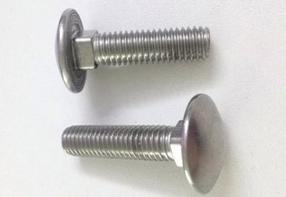 Carriage Bolts, Stainless Steel M8X35