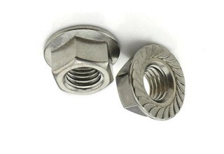 Flange Nuts, Stainless Steel 304 M6