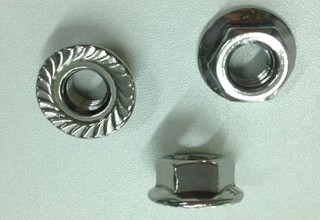 Flange Nuts, Stainless Steel 304 M8