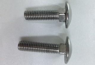 Carriage Bolts, Stainless Steel 304 M8X40