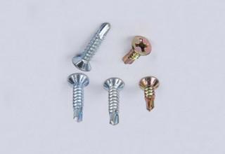 Self Drilling Screws, CSK Head DIN7504 4.8 x 80mm