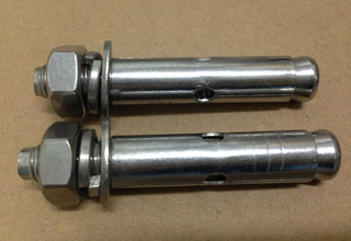 Anchor Bolts, C/W Nuts Washers M16X450mm
