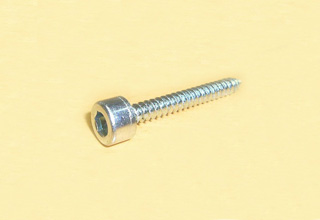 Socket Head Cap Screw, Zinc Coated 6.3x35mm