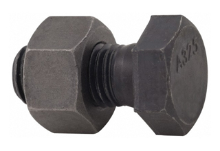 Heavy Hex Head Bolts, Hot Dip Galvanized M12 x 100mm