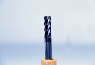 4 Flute Flat Solid End-mill For AL