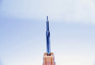 Carbide and hss step drill bit with straight shank