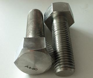 DIN933 A4-80 Hex Bolt M48X120 1