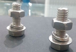 Stainless steel Mechanical bolt with nuts