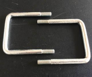 Carbon Steel U Bolt M12X90X114 Zinc Plated