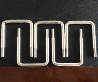 Carbon Steel U Bolt M12X90X114 Zinc Plated 2