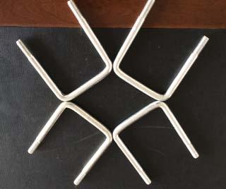 Carbon Steel U Bolt M12X90X114 Zinc Plated 3